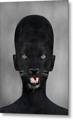 Skin Me Alive Metal Print by Yosi Cupano
