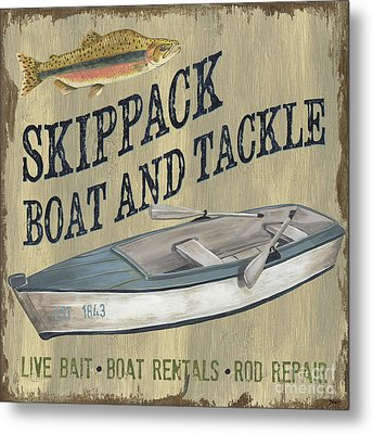 Skippack Boat And Tackle Metal Print by Debbie DeWitt