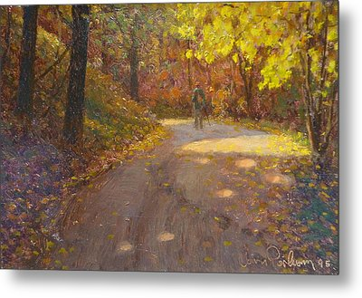 Skippers Autumn Metal Print by Terry Perham