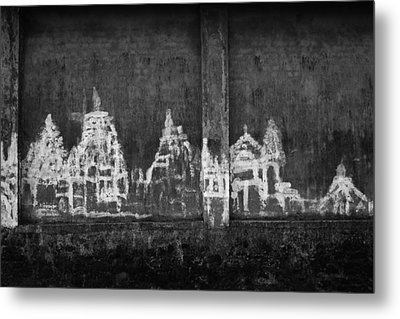 Metal Print featuring the photograph Skc 0003 Temple Complex by Sunil Kapadia