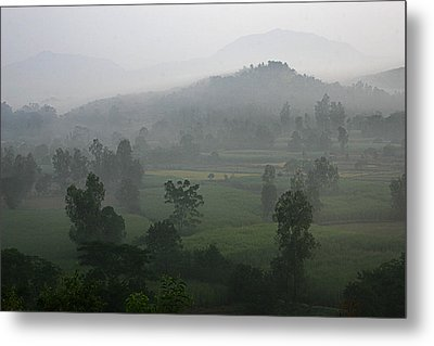 Metal Print featuring the photograph Skc 0079 A Winter Morning by Sunil Kapadia