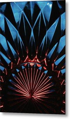 Metal Print featuring the photograph Skc 0269 Cut Glass by Sunil Kapadia