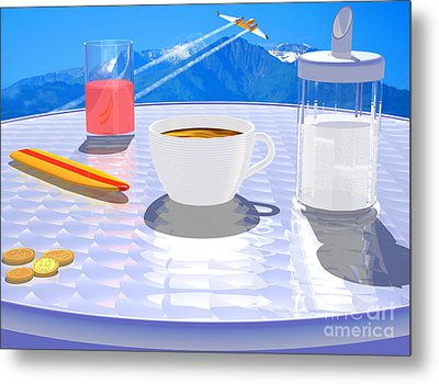 Sky Cafe Metal Print by Andreas Thust