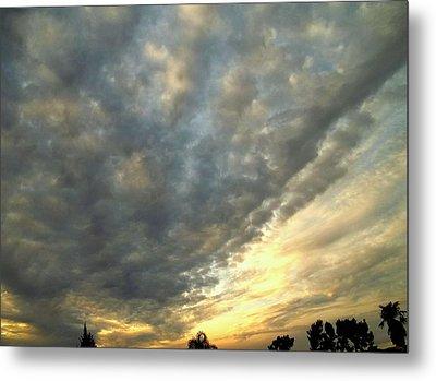 Sky Canvas Metal Print by Glenn McCarthy Art and Photography