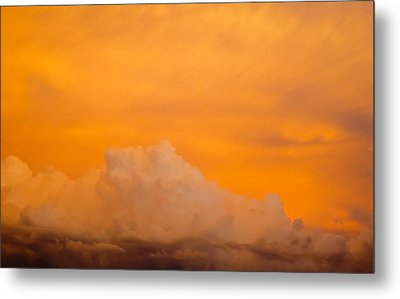 Sky Fire 001 Metal Print by Tony Grider