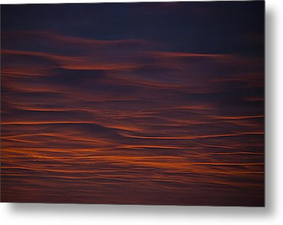 Sky Flow Metal Print by Sean Holmquist