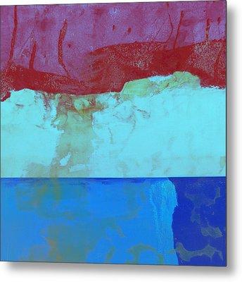 Sky Into The Sea Metal Print by Carol Leigh