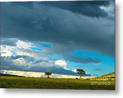 Sky Is The Limit Metal Print by Syed Aqueel
