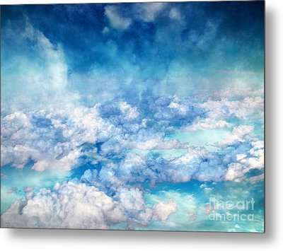 Sky Moods - A View From Above Metal Print by Glenn McCarthy