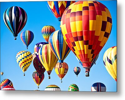 Sky Of Color Metal Print