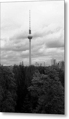 Sky Over Berlin Metal Print by Steve K