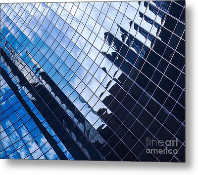 Reflections Metal Print by Ernest Puglisi