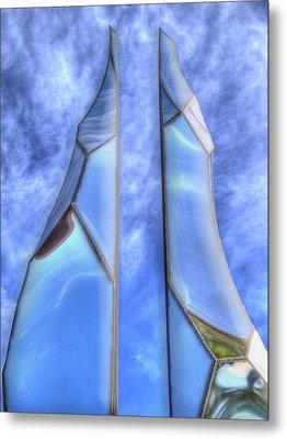 Skycicle Metal Print