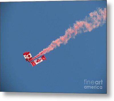 Skydivers #01 Metal Print by Ausra Huntington nee Paulauskaite