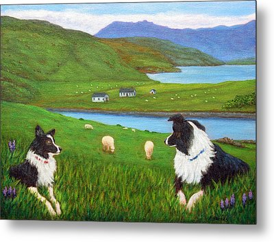 Skye Watch Metal Print by Fran Brooks