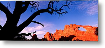 Skyline Arch, Arches National Park Metal Print by Panoramic Images