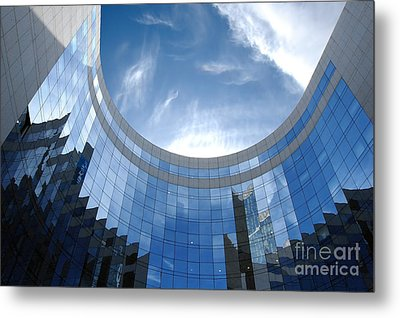 Skyscraper Metal Print by Michal Bednarek