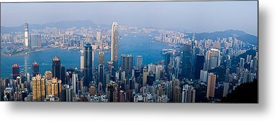 Skyscrapers In A City, Victoria Metal Print by Panoramic Images