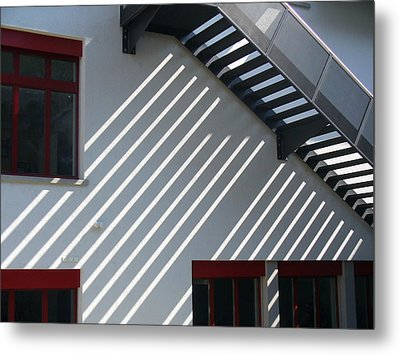 Slanting Sunlight Metal Print by Bill Mock