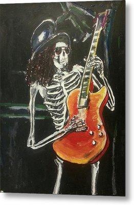 Slash Metal Print by Marisa Belculfine