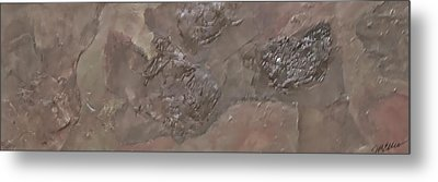 Slate Slab Metal Print by Jim Ellis
