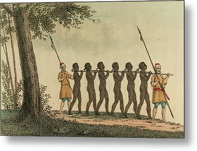 Slaves Metal Print by British Library