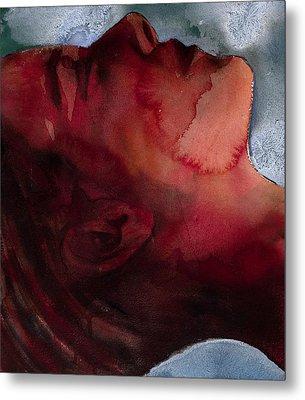 Sleeper Head Metal Print by Graham Dean