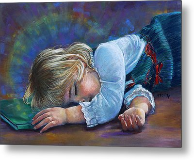 Sleeping Child Metal Print