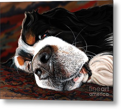 Sleeping Dogs Lie Metal Print by Liane Weyers