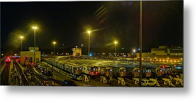 Sleeping Subways Metal Print