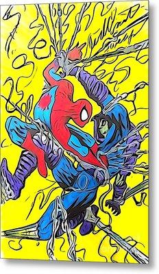 Sleepwalker 7 Metal Print by Justin Moore