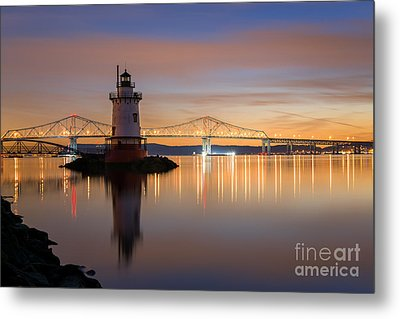 Sleepy Hollow Light Reflections  Metal Print by Michael Ver Sprill