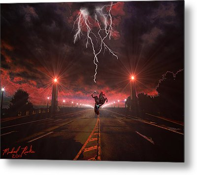 Sleepy Hollow  Metal Print by Michael Rucker