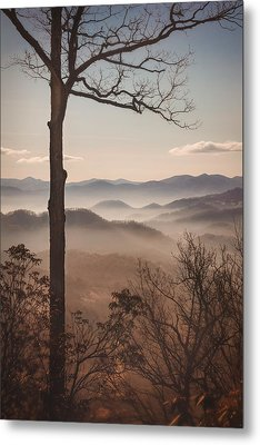 Slice Of The Smokies Metal Print by Maria Robinson