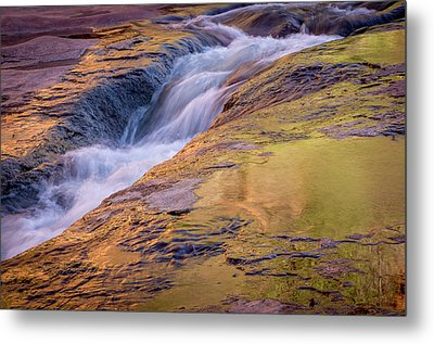 Slide Rock State Park, Oak Creek Metal Print by Rob Sheppard