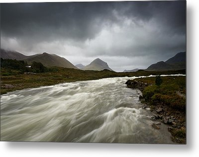 Sligachan Metal Print by Stephen Taylor