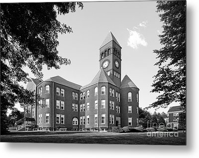 Slippery Rock University Old Main Metal Print by University Icons