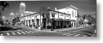 Sloppy Joes Bar Key West Fl Metal Print by Panoramic Images