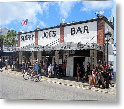 Sloppy Joes Key West 2 Metal Print