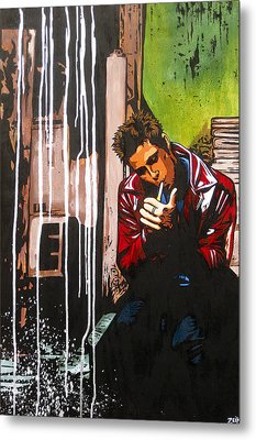 Slow Night For Tyler Metal Print by Bobby Zeik