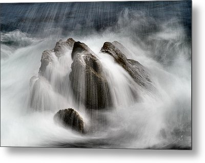 Slow Surf Metal Print by Acadia Photography