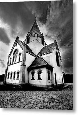 Small Church Metal Print