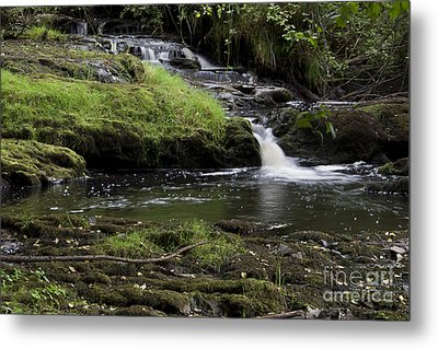 Small Falls On West Beaver Creek Metal Print