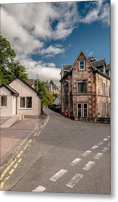 Metal Print featuring the photograph Small Streets Of Oban by Sergey Simanovsky