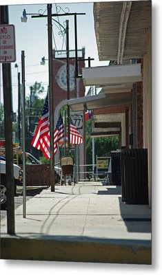 Small Town America Metal Print by Robyn Stacey