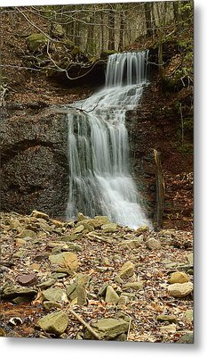 Small Tributary Falls To Heberly Run #1 Metal Print