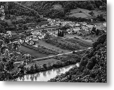 Small Village Metal Print by Oleksandr Maistrenko