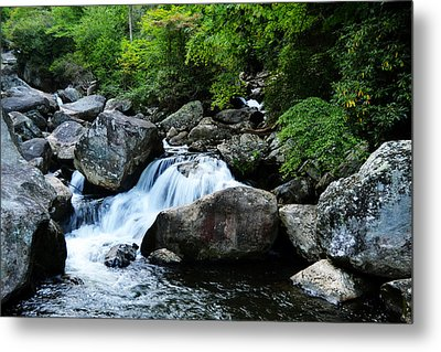 Small Waterfall Metal Print by Adam LeCroy