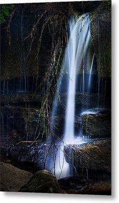 Small Waterfall Metal Print by Tom Mc Nemar