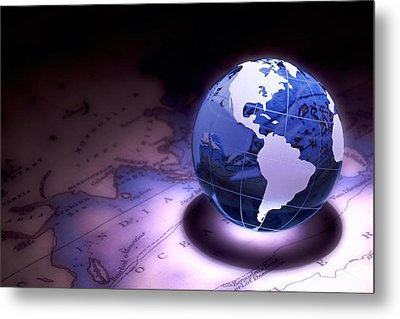 Small World Still Life Metal Print